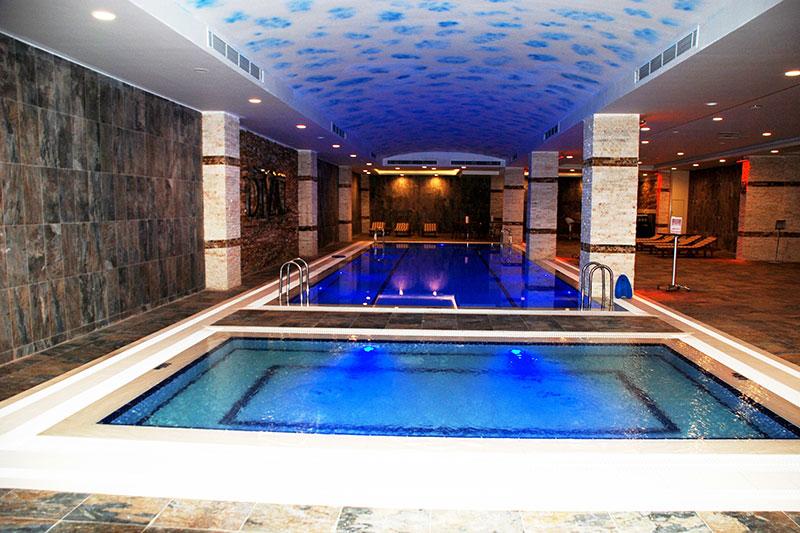 Divalin Hotel Indoor Pool