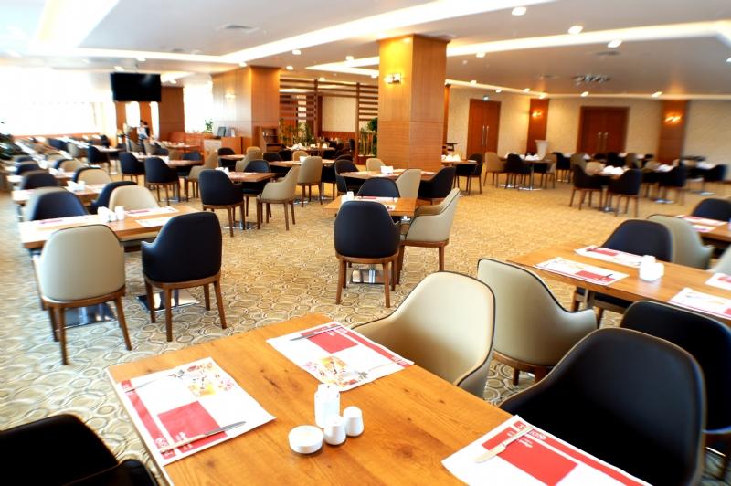 Divalin Hotel Kahvaltı Salonu